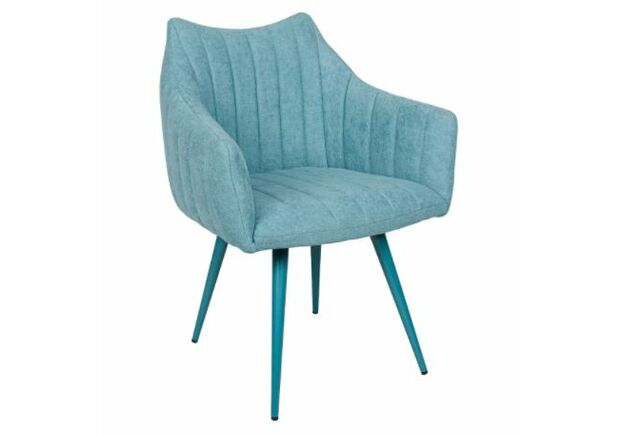 Кресло BONN (64*60*87 cm текстиль) бирюза NEW - Фото №1