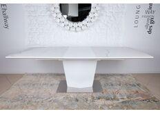Фото Стол обеденный MICHIGAN (180/230*95*76cmH) керамика белый
