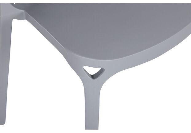 Стул Blue Bell (52*56,5*74,5см) серый - Фото №2