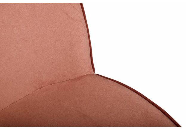 Стул SHIRLEY (49*59*83 cm текстиль) терракот - Фото №2