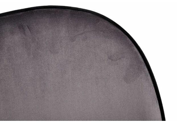 Стул SHIRLEY (49*59*83 cm текстиль) пепельный - Фото №2