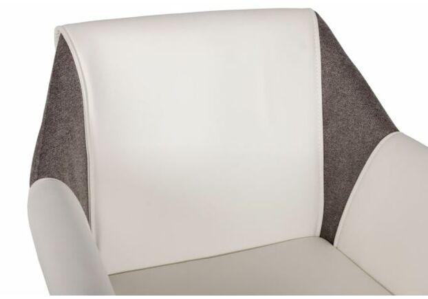 Кресло Toscana (61*62*82 см) белый/серый - Фото №2
