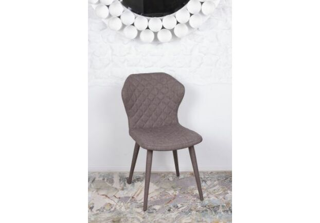 Стул VALENCIA (60*51*88 cm - текстиль) кофейный - Фото №1