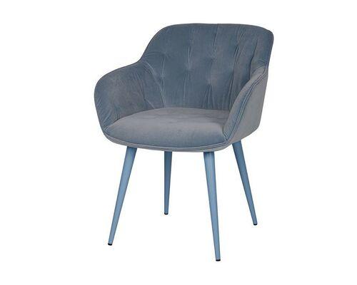 Кресло Viena (60*63*77,5 cm текстиль) голубой - Фото №1