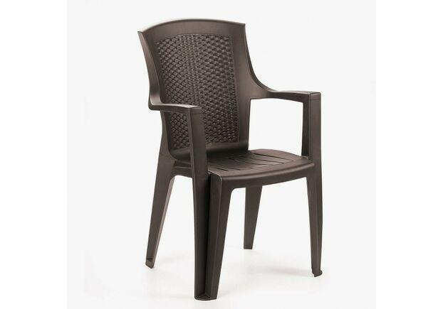 Кресло Eden коричневое - Фото №1