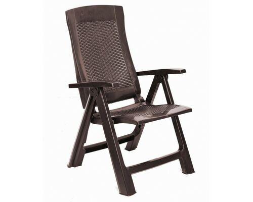 Кресло GOLD раскладное коричневое - Фото №1