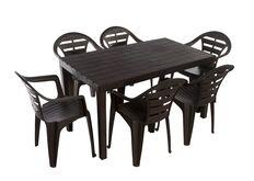 фото Набор стол Sumatra  коричневый