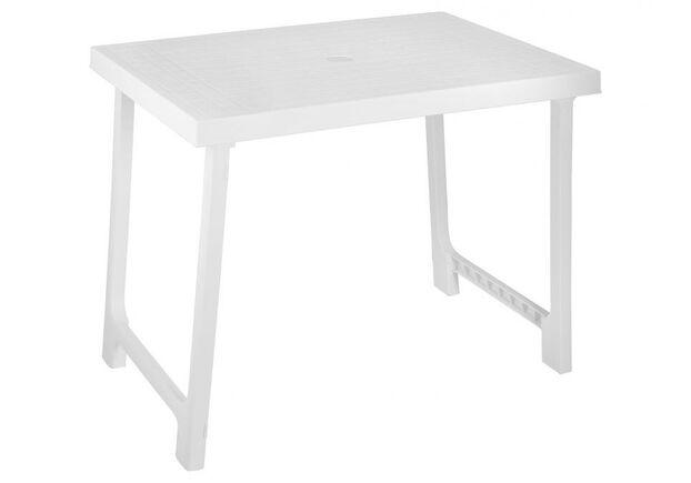 Стол NIK 78x56x60 складной белый - Фото №1