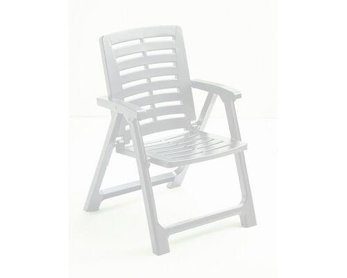 Кресло REXI складное белое - Фото №1