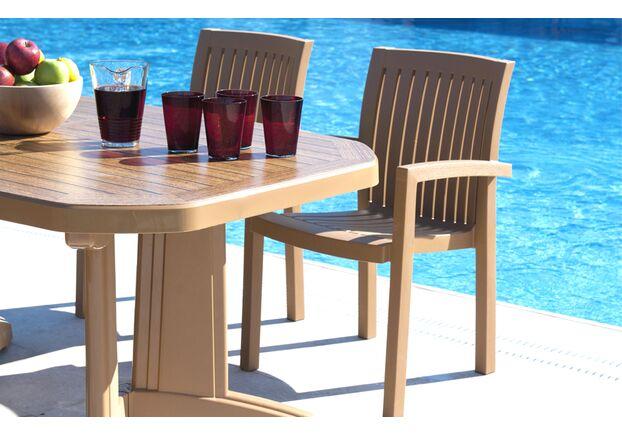 Кресло пластиковое Нета тик 13 - Фото №2