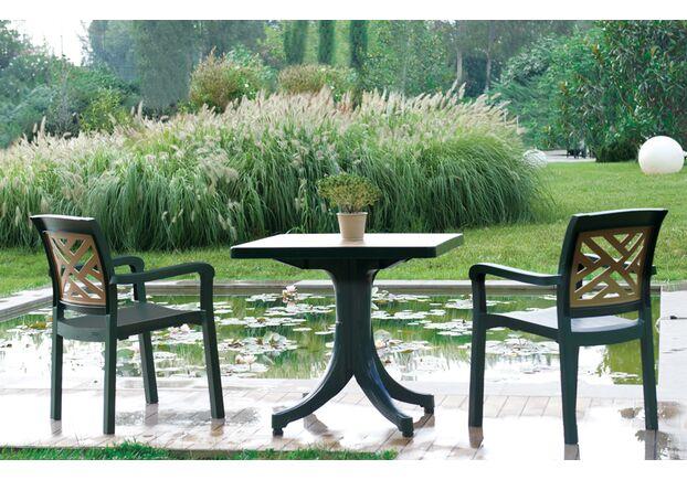 Кресло для сада Адмирал  зеленое 05 - Фото №2