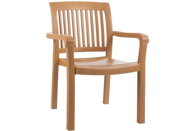 Кресло для сада Мистрал тик 13 - Фото №1
