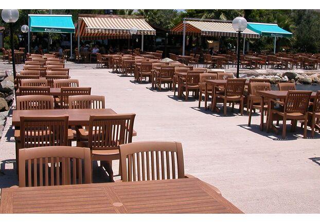Кресло для сада Мистрал тик 13 - Фото №2