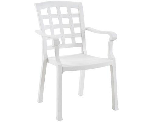 Кресло для сада Паша белое 01 - Фото №1