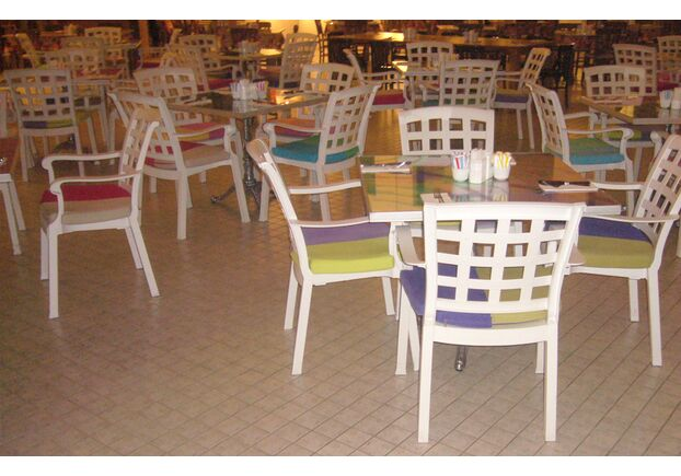 Кресло для сада Паша белое 01 - Фото №2