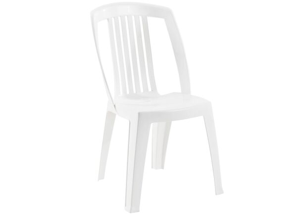 Кресло для сада Фавори белое 01 - Фото №1