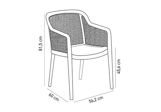Кресло Octa кофейный - Фото №2