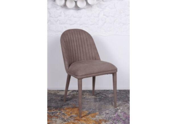 Стул FRANKFURT (49*60*84 cm - текстиль) кофейный - Фото №1