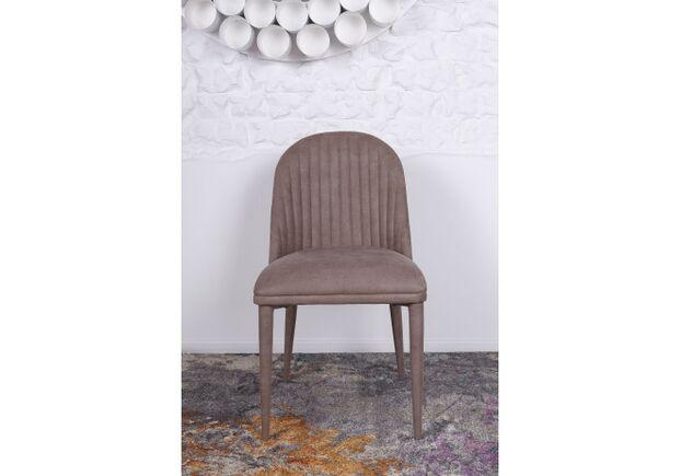 Стул FRANKFURT (49*60*84 cm - текстиль) кофейный - Фото №2