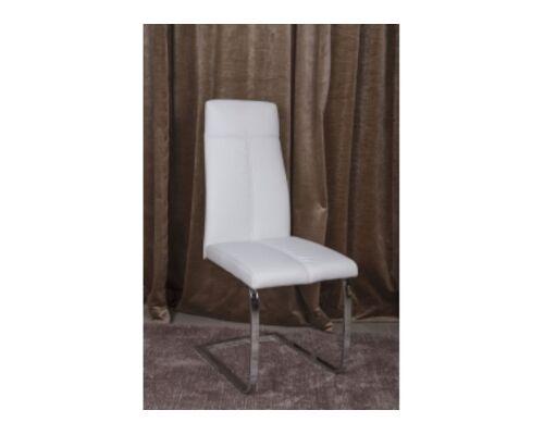 Стул GILBERT (45*59*102 cm) белый - Фото №1