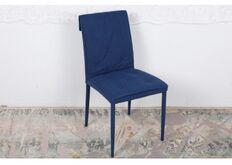 Фото Стул NAVARRA (45*60*89 cm текстиль) темно-синий