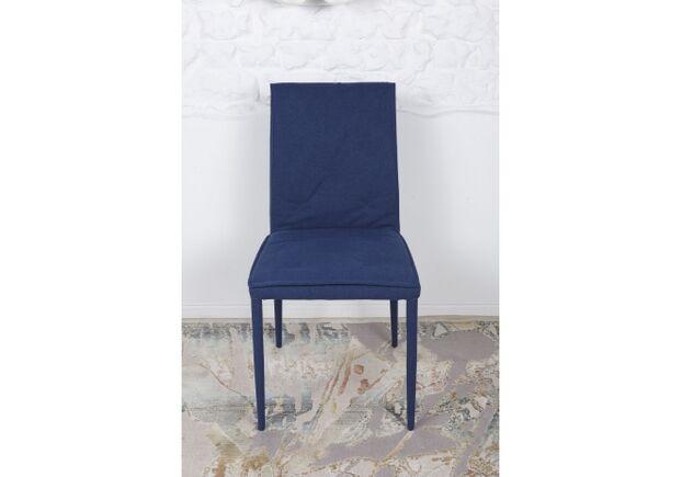 Стул NAVARRA (45*60*89 cm текстиль) темно-синий - Фото №2