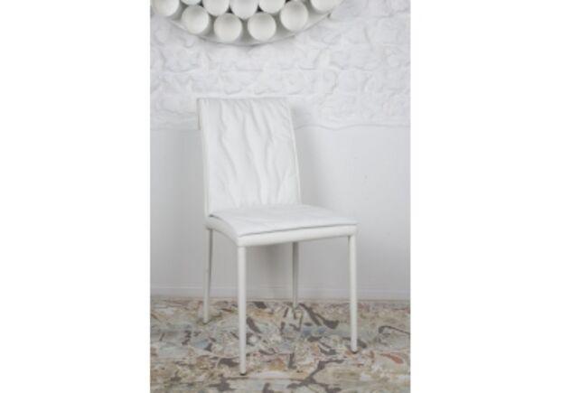 Стул NAVARRA (45*60*89 cm) белый - Фото №1