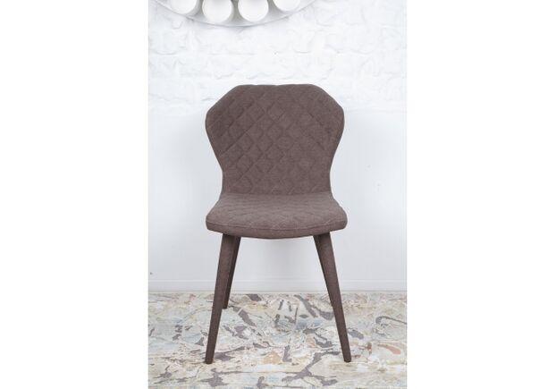 Стул VALENCIA (60*51*88 cm - текстиль) коричневый - Фото №2