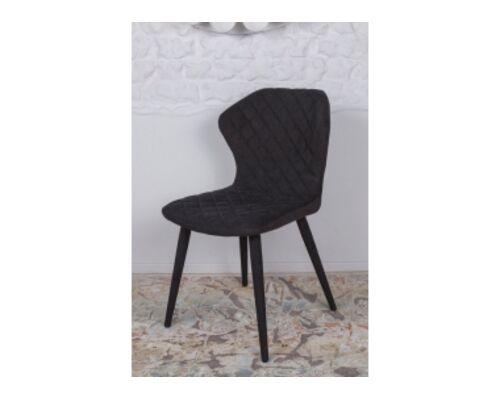 Стул VALENCIA (60*51*88 cm - текстиль) черный - Фото №1
