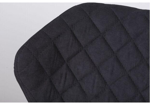 Стул VALENCIA (60*51*88 cm - текстиль) черный - Фото №2