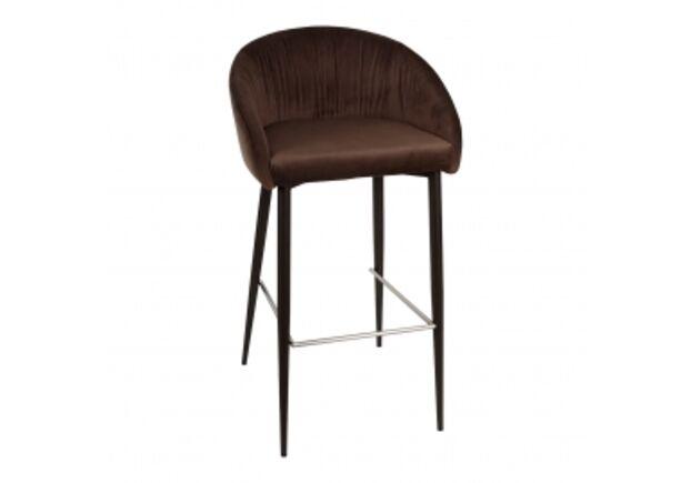 Стул барный ELBE (53*51*98/75cm) коричневый - Фото №1