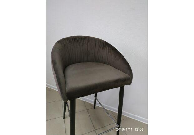 Стул барный ELBE (53*51*98/75cm) коричневый - Фото №2