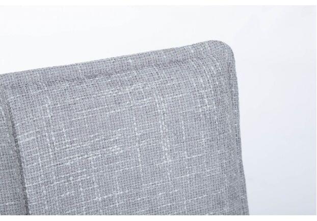 Стул поворотный MADRID (56*44*85 cm - текстиль)  рогожка светло-серый - Фото №2