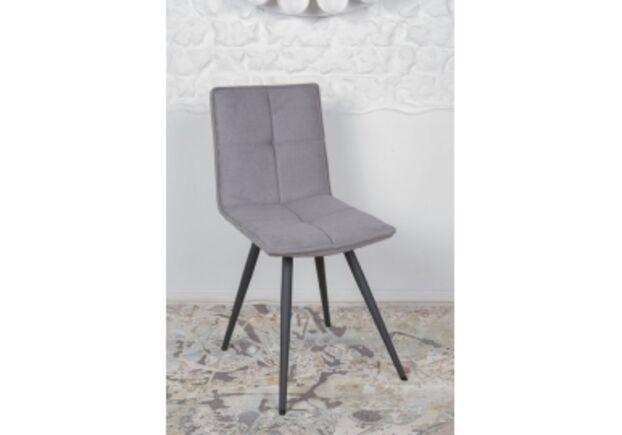 Стул поворотный MADRID (56*44*85 cm - текстиль) серый - Фото №1