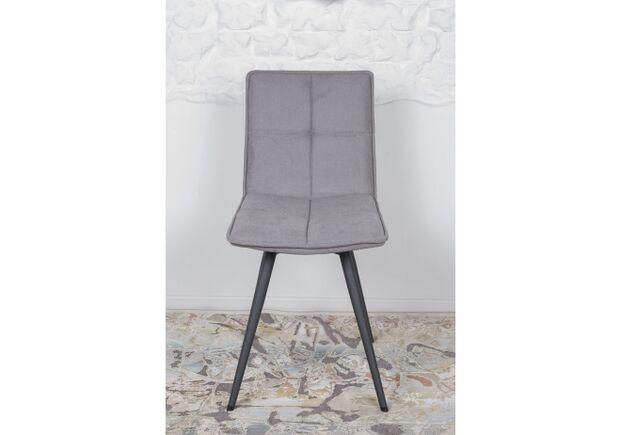 Стул поворотный MADRID (56*44*85 cm - текстиль) серый - Фото №2