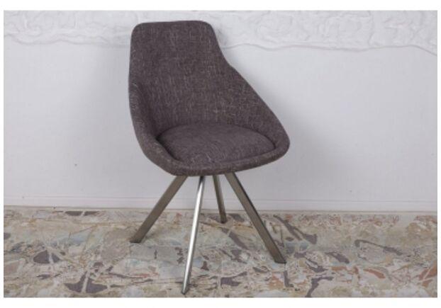 Стул поворотный TOLEDO (58*55*87 cm - текстиль) рогожка кофе-мокко - Фото №1