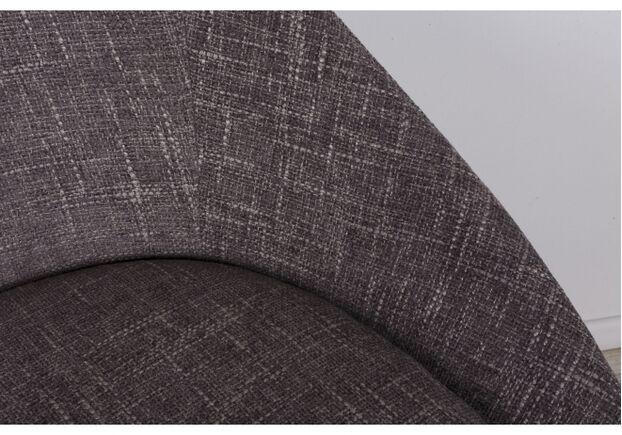 Стул поворотный TOLEDO (58*55*87 cm - текстиль) рогожка кофе-мокко - Фото №2