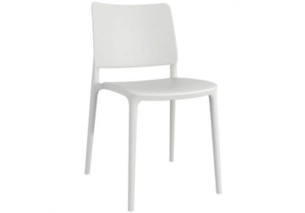 Стул пластиковый Joy- S белый - Фото №1