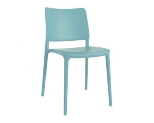 Стул пластиковый Joy- S аква-синий - Фото №1