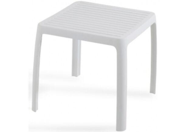 Стол для шезлонга WAVE белый 01 - Фото №1