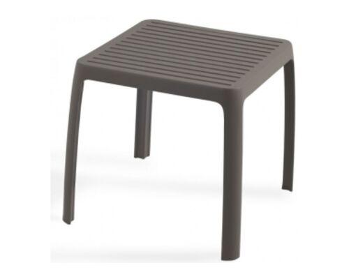 Стол для шезлонга WAVE серо-коричневый 61 - Фото №1
