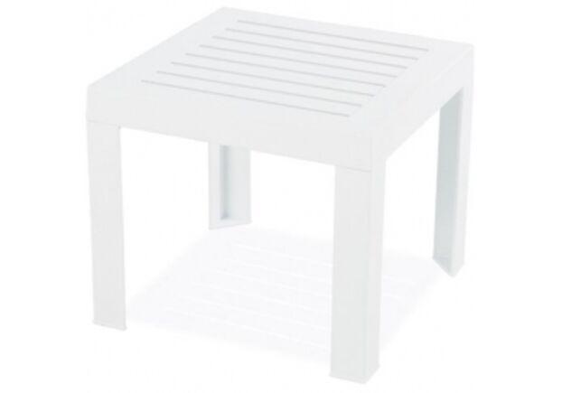 Стол для шезлонга SUDA белый 01 - Фото №1