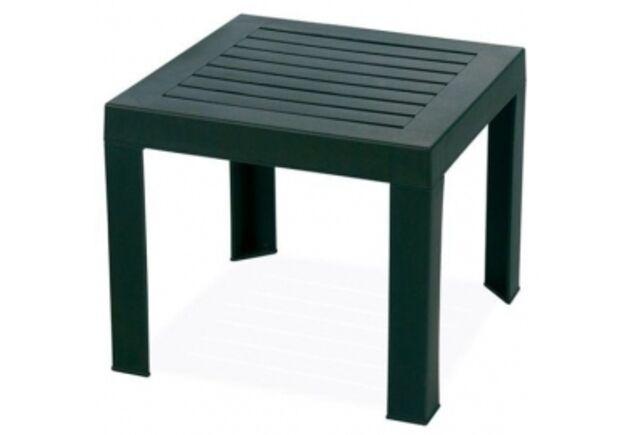 Стол для шезлонга  SUDA темно-зеленый 05 - Фото №1
