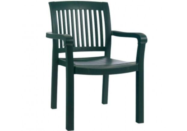 Кресло для сада Мистрал зеленое 05 - Фото №1