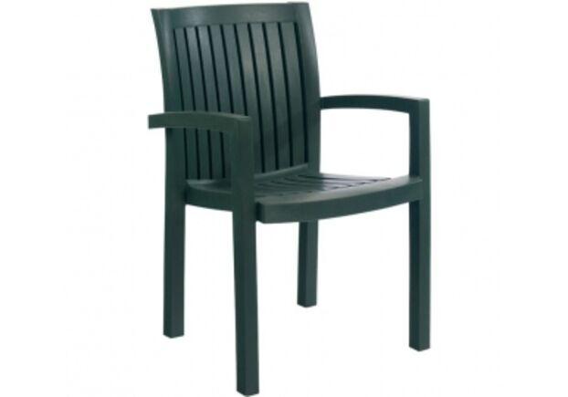 Кресло для сада Нета зеленое 05 - Фото №1