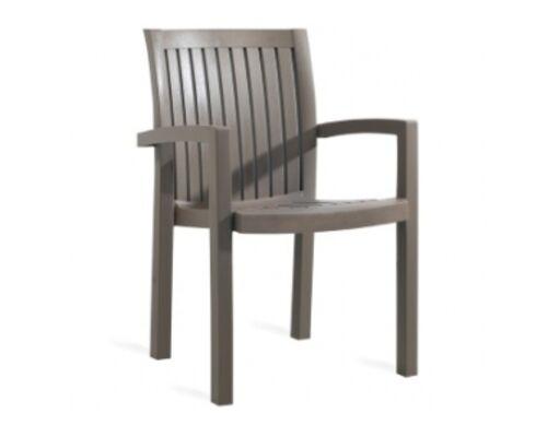 Кресло для сада Нета серо-коричневое 61 - Фото №1
