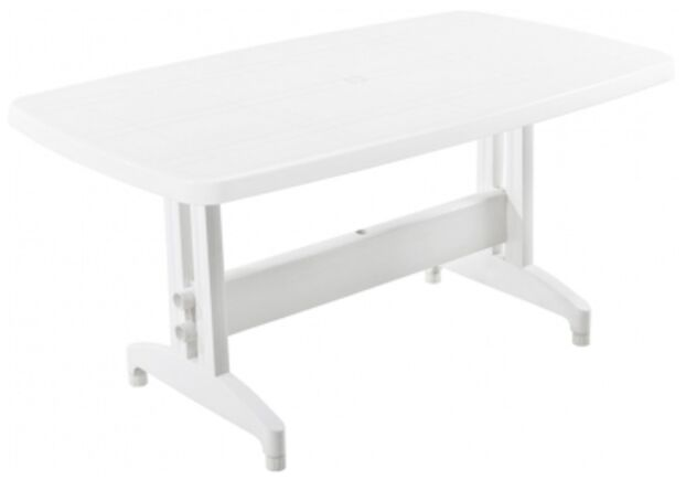 Стол для сада Престиж 155*88 см белый 01 - Фото №1
