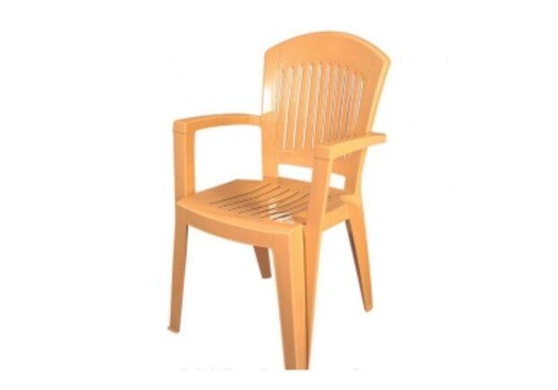 Кресло пластиковое Aspendos тик - Фото №1