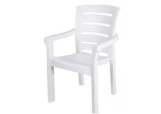 Фото Кресло пластиковое Didim белое