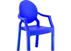 Фото Кресло детское пластиковое Afacan синее